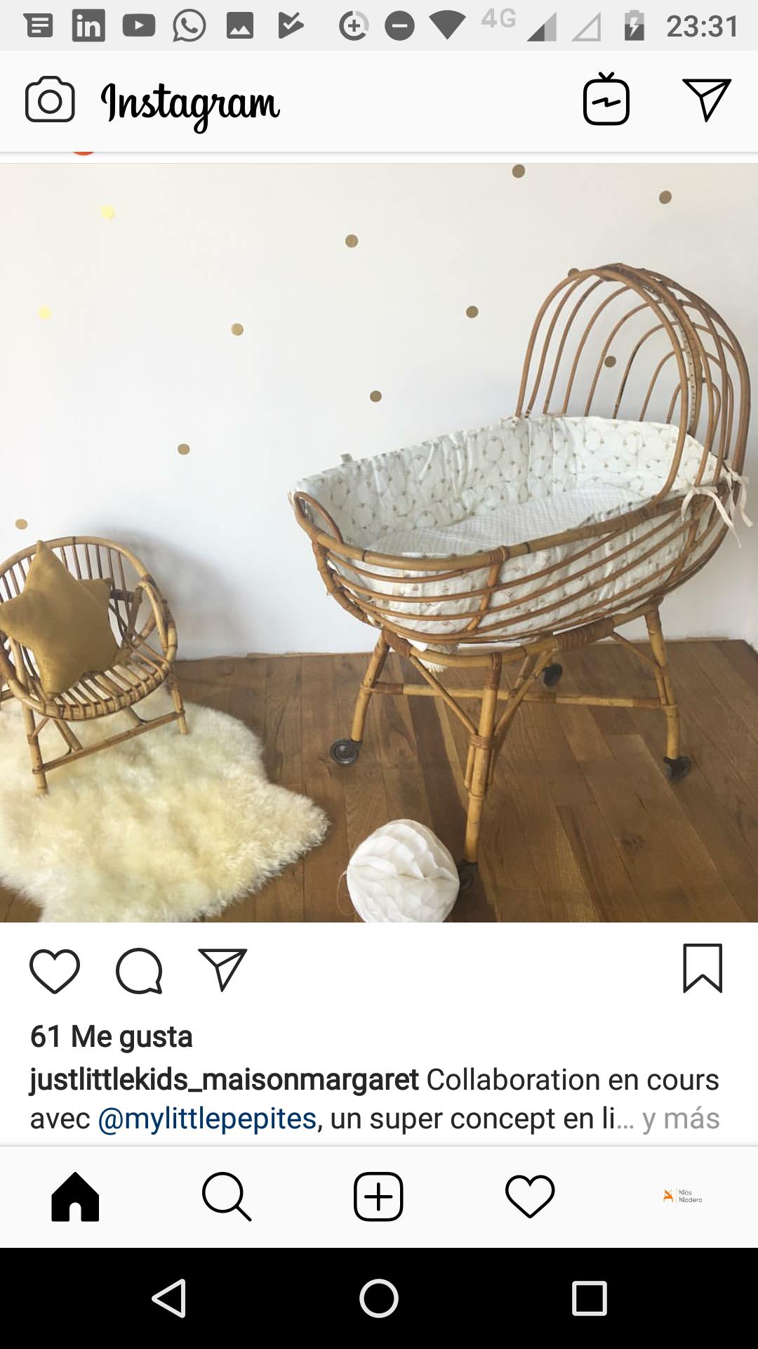 muebles en instagram